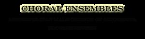 Choral Ensembles logo